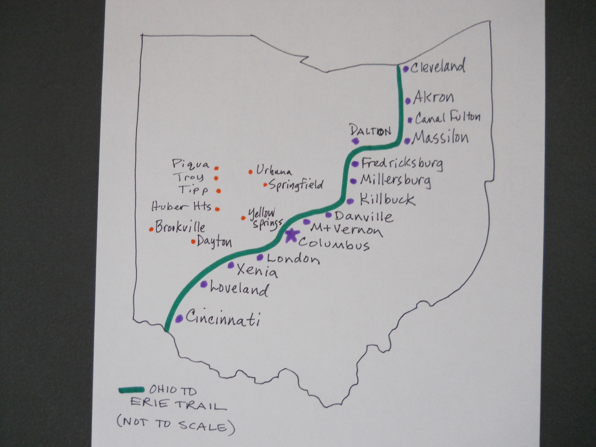 Trail Map: Ohio to Erie Trail | IGotABike
