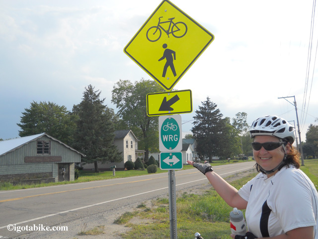 The Western Reserve Greenway is paved for 40 miles thru Ashtabula County and Trumball County in northeast Ohio near the Pennsylvania line.