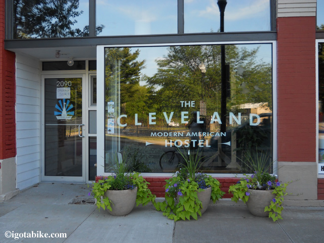 The Cleveland Hostel.