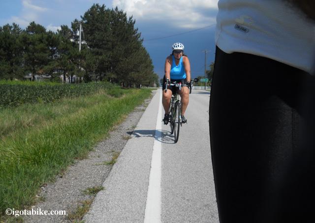 Pedal faster! I hear thunder!