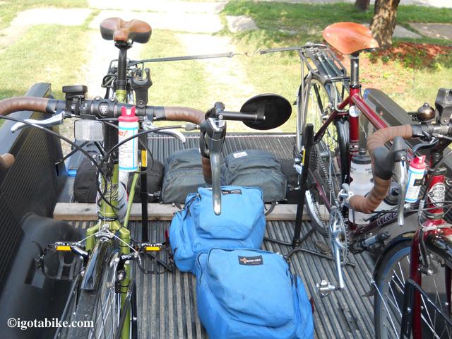 bikes in pickup