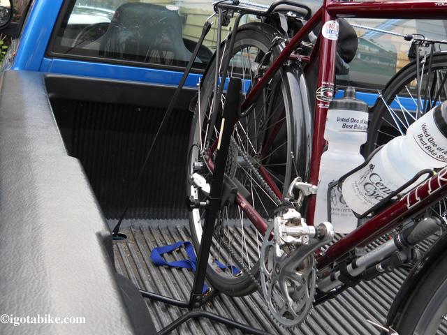 Pickup Truck Bike Stand