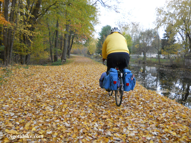 Fall bicycle tour