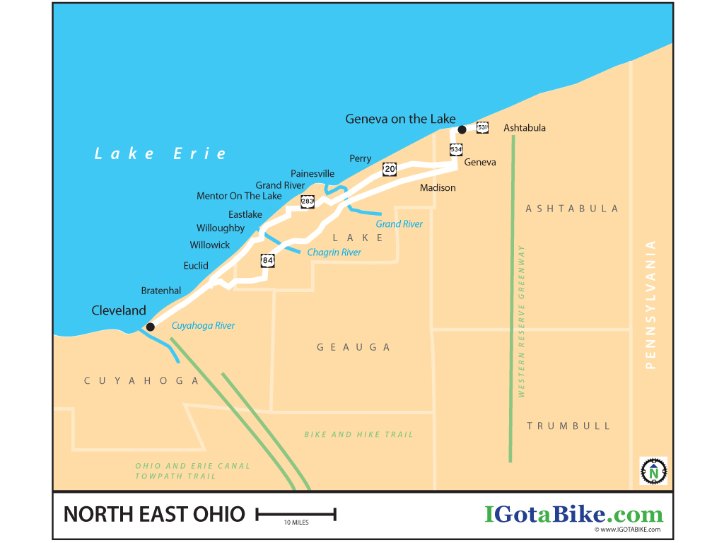 Connecting the dots cleveland to the western reserve greenway via guy and i are always looking at maps of ohio and scheming on bicycle tour locations we can see great potential for a loop from cleveland to the western publicscrutiny Choice Image