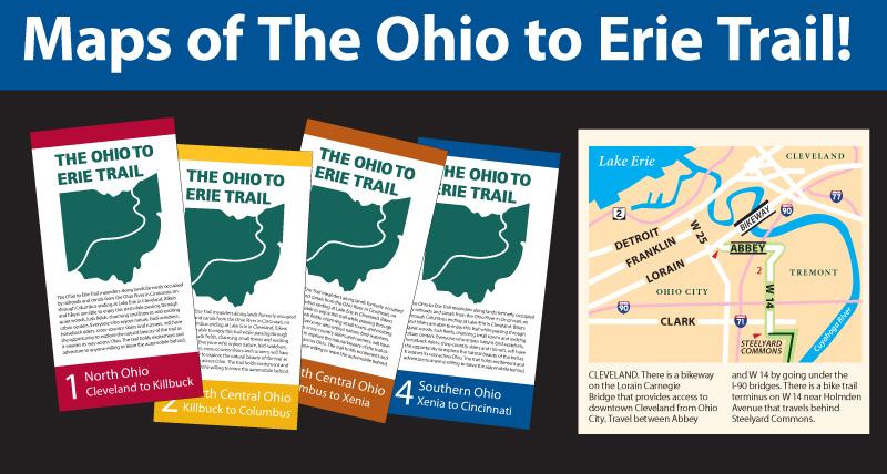 Free maps of the Ohio To Erie Trail at igotabike.com