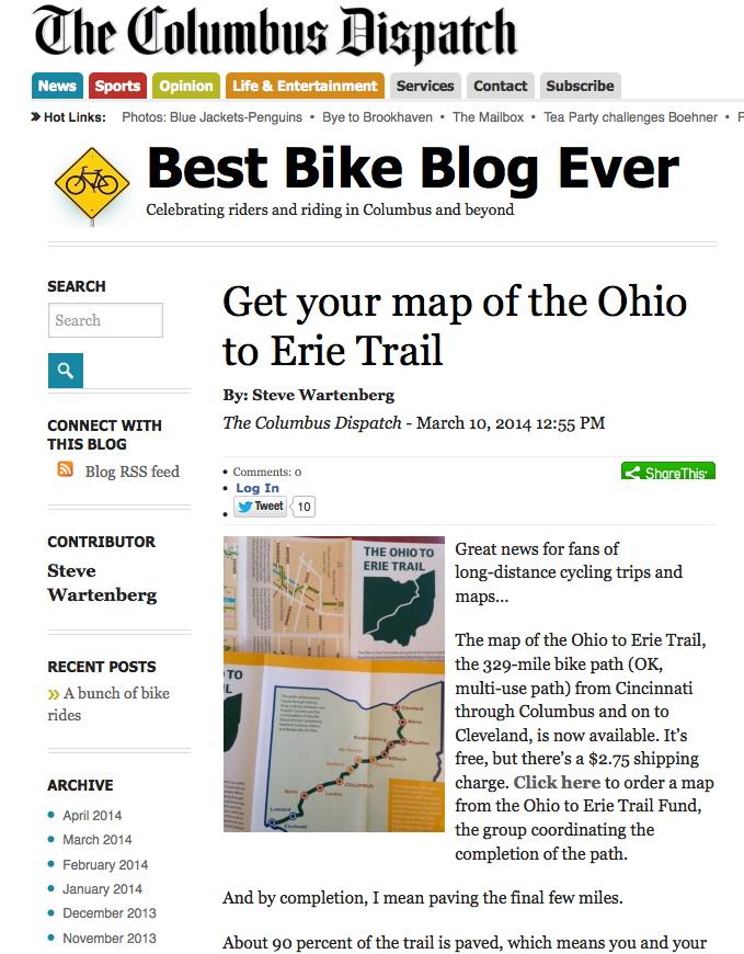 Columbus Dispatch Blog